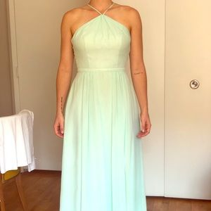 Weddington Way Bridesmaid Dress, Chiffon, Mint